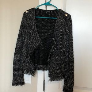 White House Black Market open cardigan